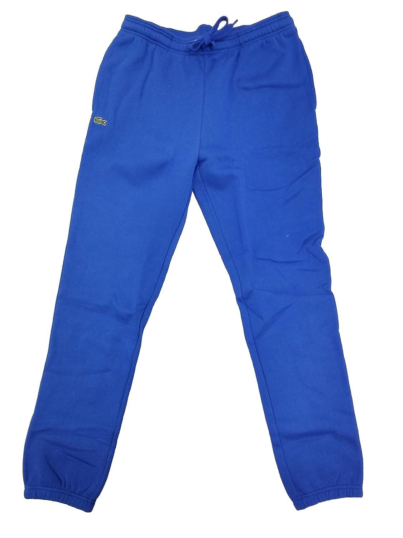 ec10580cb8 Lacoste Sport Tennis Track Pants in Fleece (9/4XL, Royal Blue) at ...