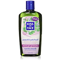 Kiss My Face: Bath & Shower Gel, Peaceful Patchouli 16 oz
