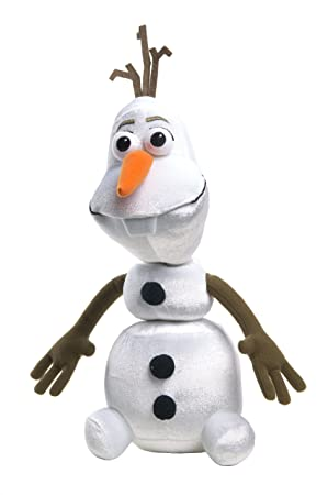 Disney Frozen - Peluche Olaf que habla, 28 cm (12810) (versión en