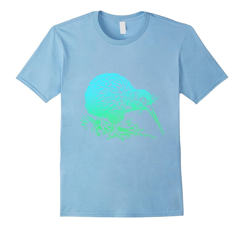 Vintage Neon Kiwi Bird T-Shirt - Awesome Kiwi Animal Tee-AZP