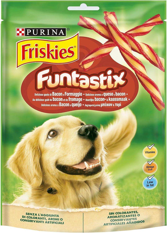 Purina Friskies Funtastix golosinas y chuches para perros 6 x 175 g