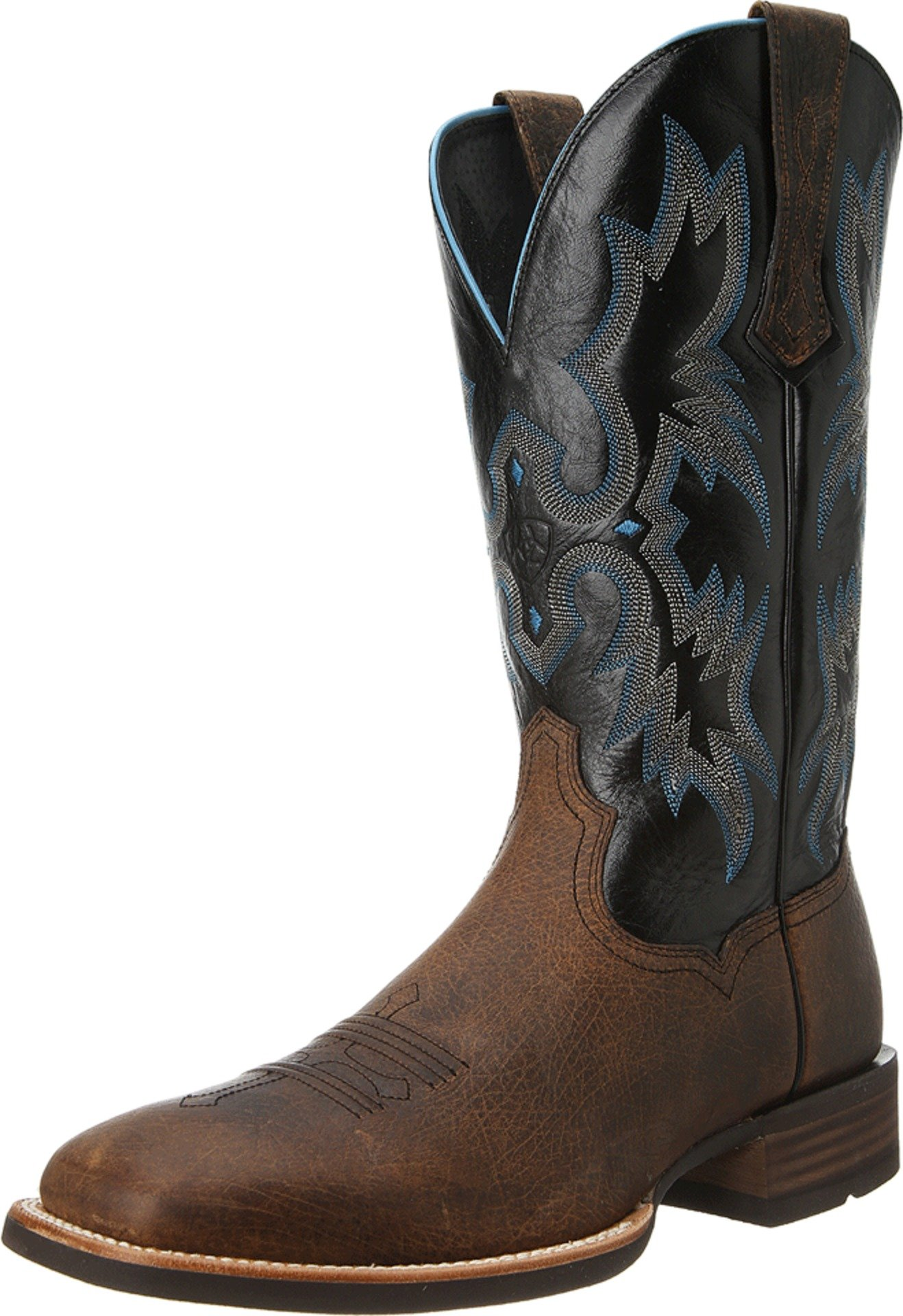 Ariat Men's Tombstone Western Cowboy Boot, Earth/Black, 9.5 2E US