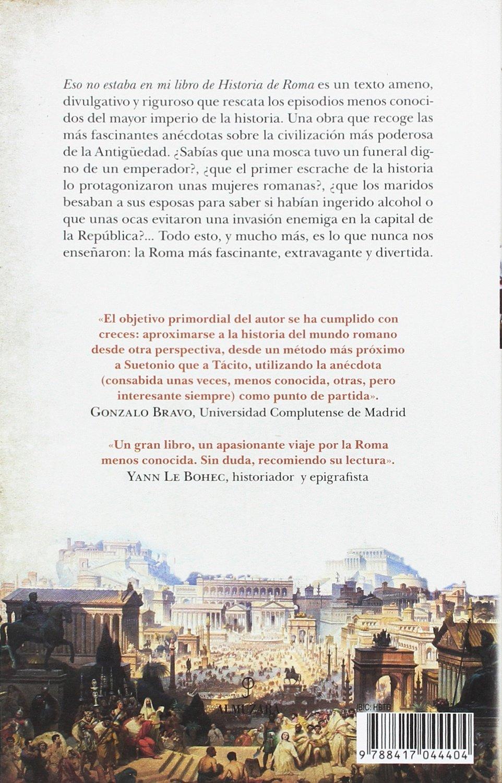 Eso no estaba en mi libro de Historia de Roma: Amazon.es ...