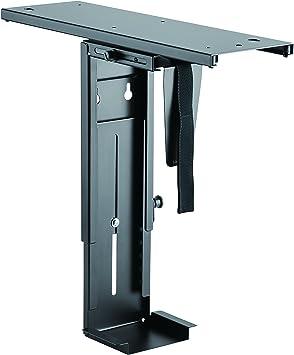 LogiLink Einstellbare Untertisch PC Halterung 360° drehbar mit variabler Größeneinstellung für PC's bis zu 10kg