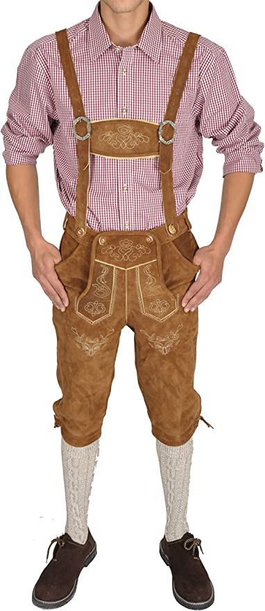 Amazon.com: Trachten Disfraces de pantalones de piel ...