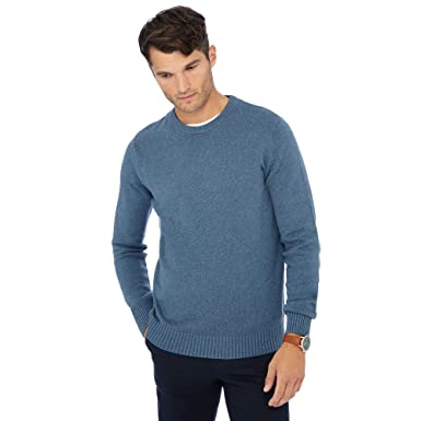 97794c88f2 Maine New England Men Big and Tall Blue Crew Neck Jumper  Maine New ...