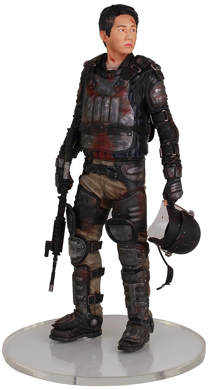 están haciendo actividades de descuento The Walking Dead TV Glenn Riot Gear Gear Gear 1/4 Scale Estatua  Envio gratis en todas las ordenes