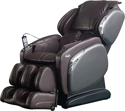 OSAKI OS-4000LS Zero Gravity Heated Massage Chair, Brown