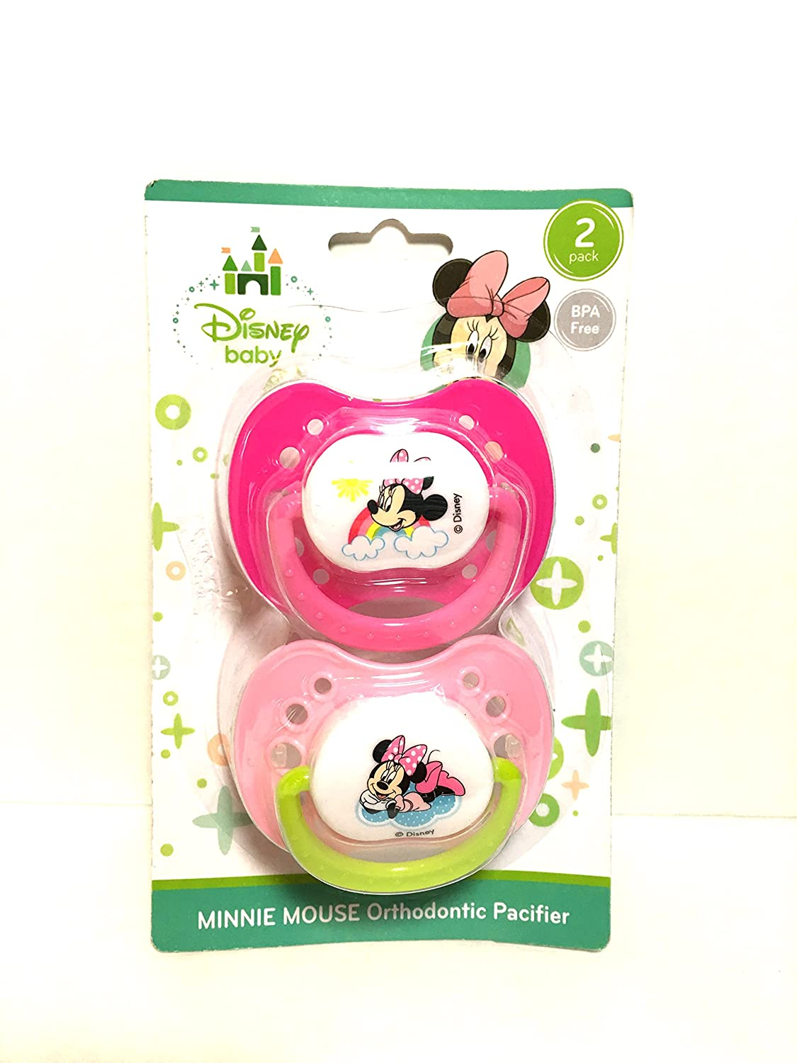 NUK Disney Minnie Mouse Orthodontic Pacifier 2 Pack