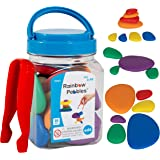 edxeducation-13250 Rainbow Pebbles - Mini Jar