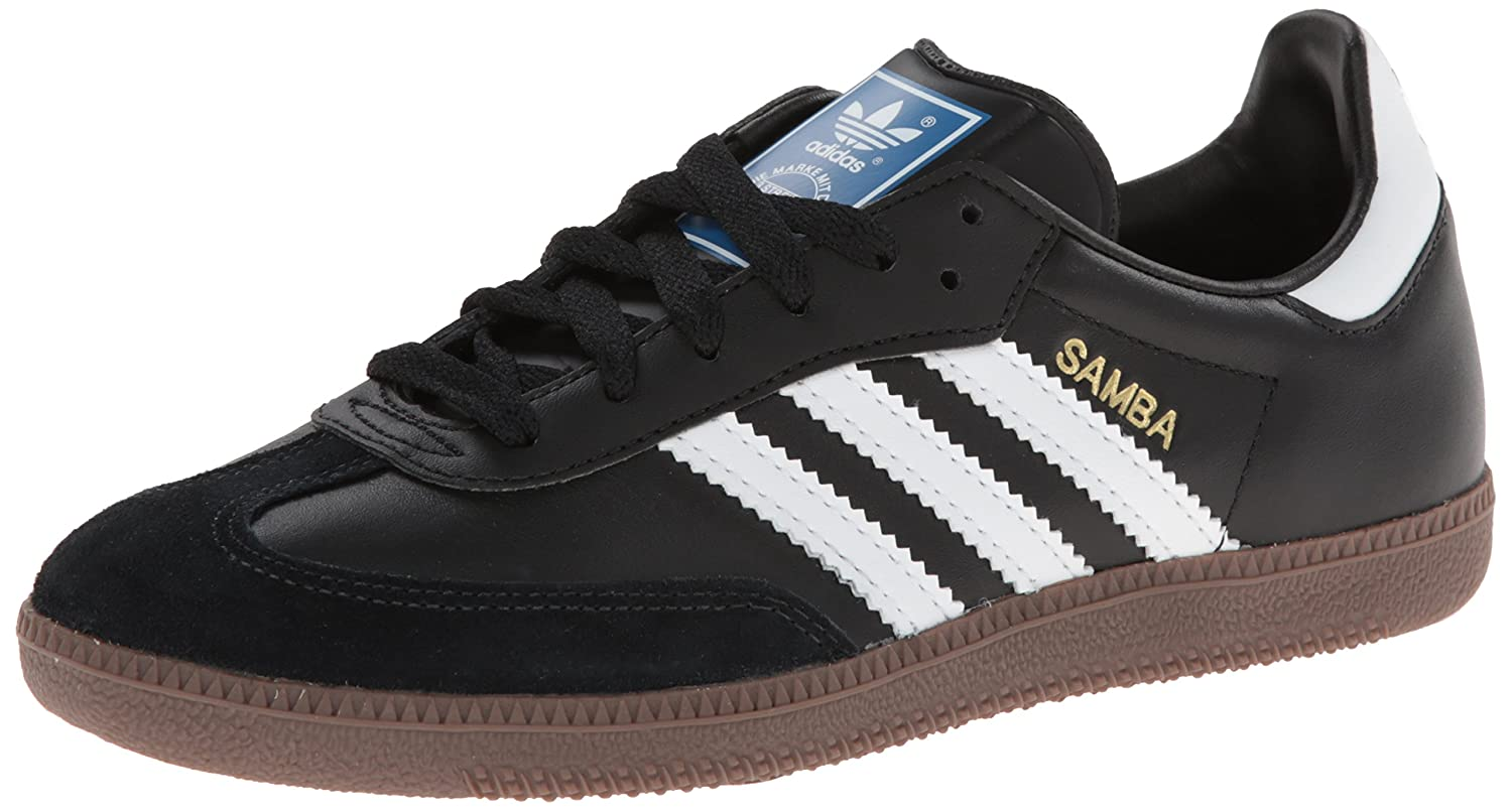 Amazon.com | adidas Originals Men's Samba Soccer-Inspired Sneaker,  Black/White/Gum, 14 M US | Fashion Sneakers