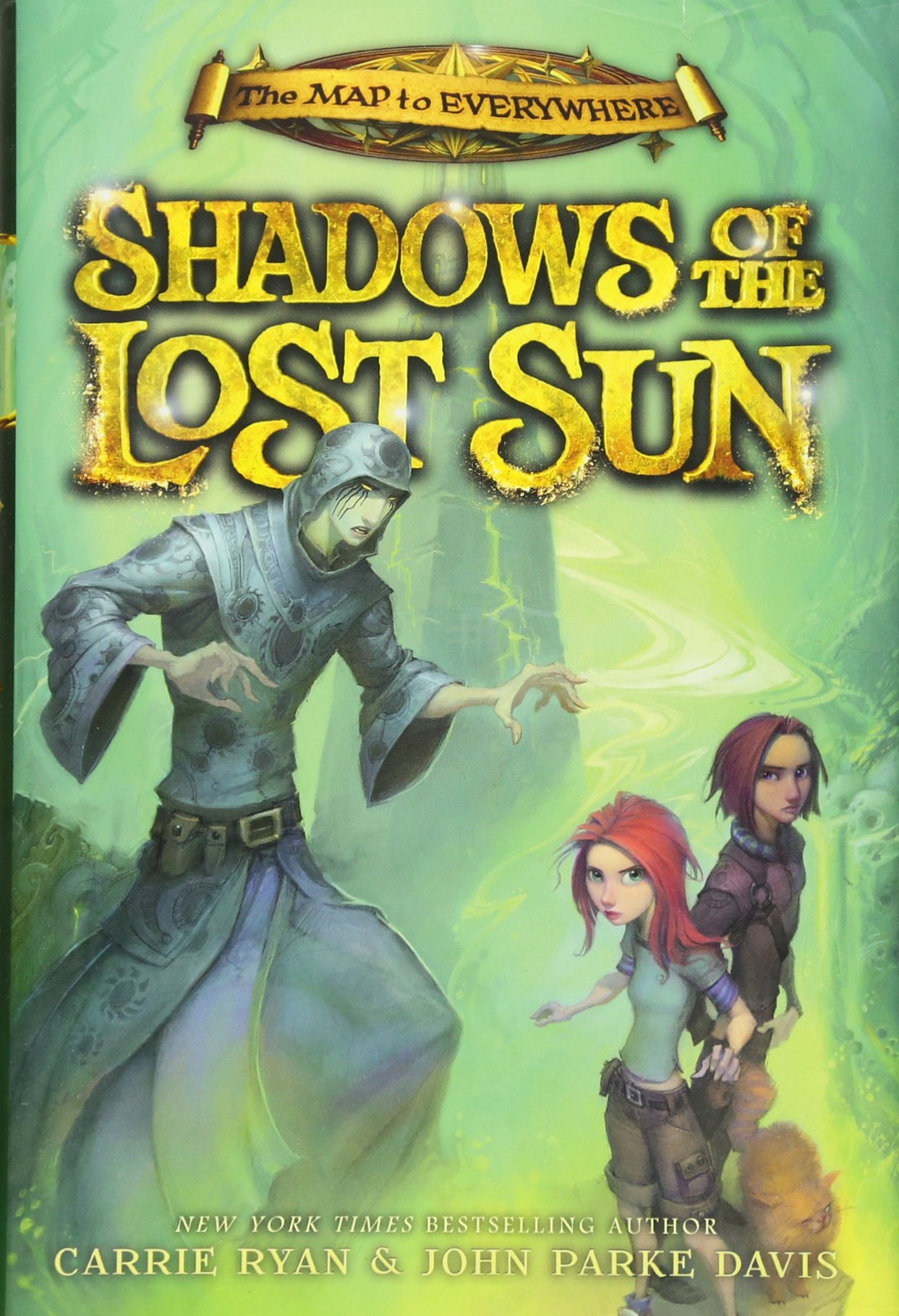 Shadows Of The Lost Sun (the Map To Everywhere): Carrie Ryan, John Parke  Davis: 9780316240888: Amazon: Books