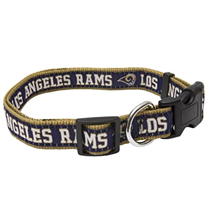 b1163575e Amazon.com   Pets First NFL Los Angeles Rams Pet Collar