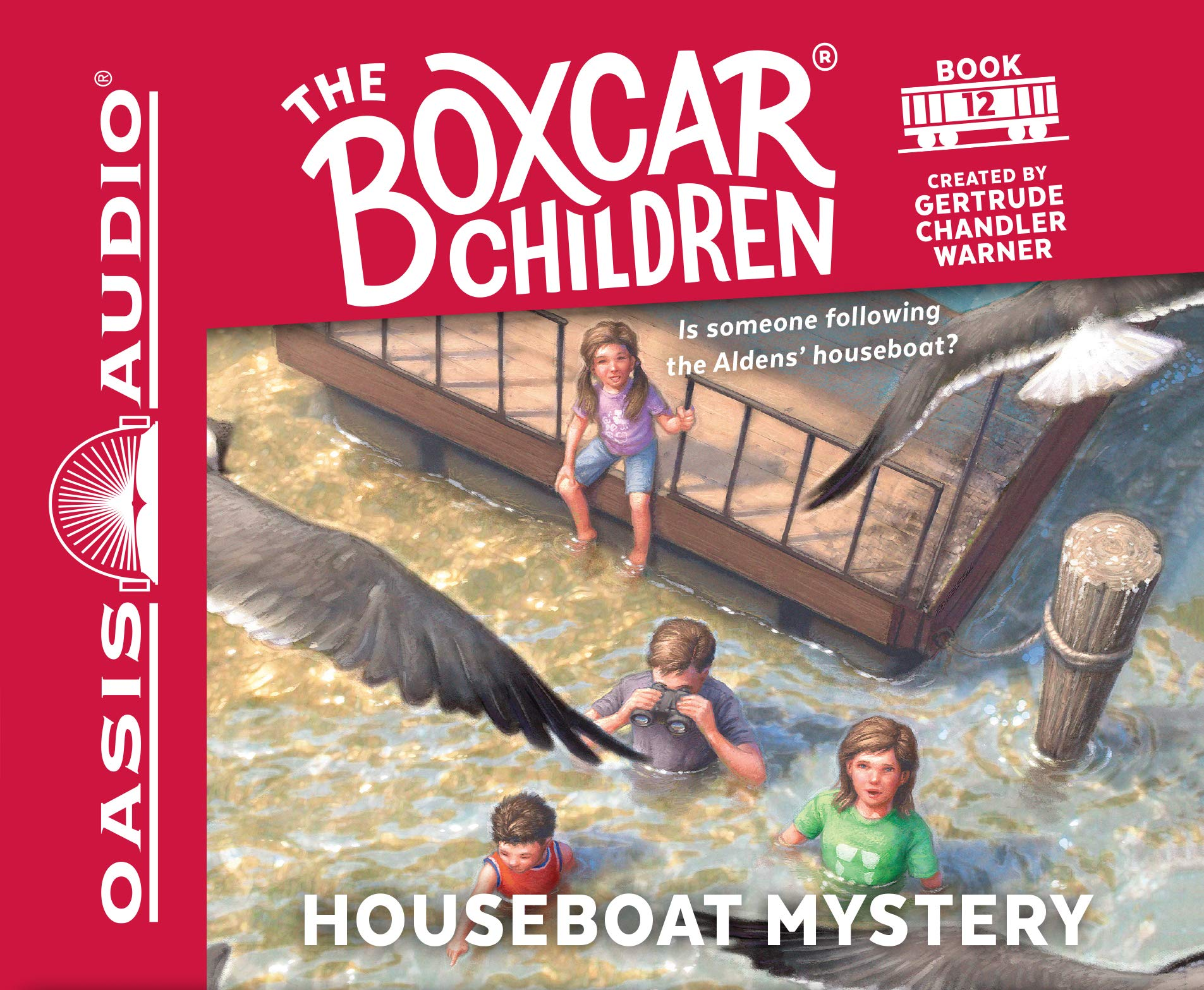 Houseboat Mystery (Library Edition) (The Boxcar Children Mysteries) ebook