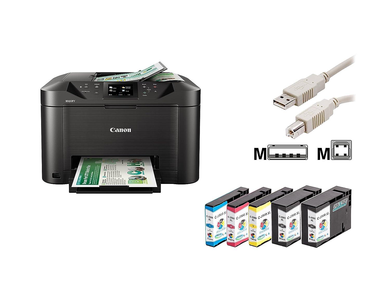 Canon MAXIFY MB5150 Tintenstrahl-impresora multifunción con 5 komp ...