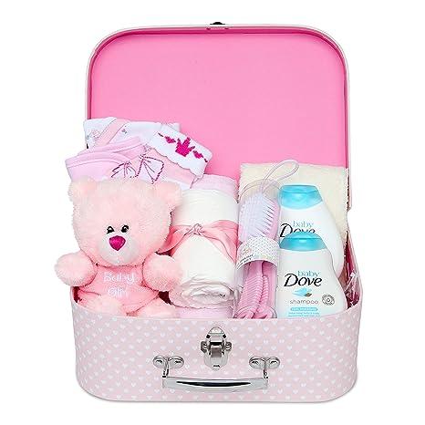 Cestas De Bebe Nina.Baby Box Shop Cesta Para Bebe Para Regalo Baby Shower Nina