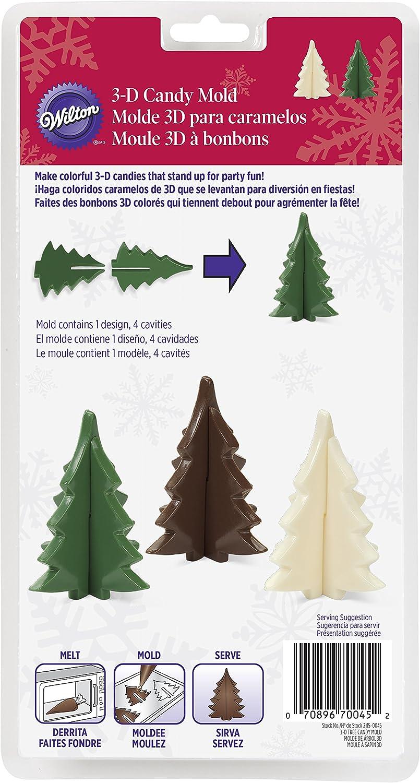 قالب شجرة عيد الميلاد 3-D كاندي من ويلتون