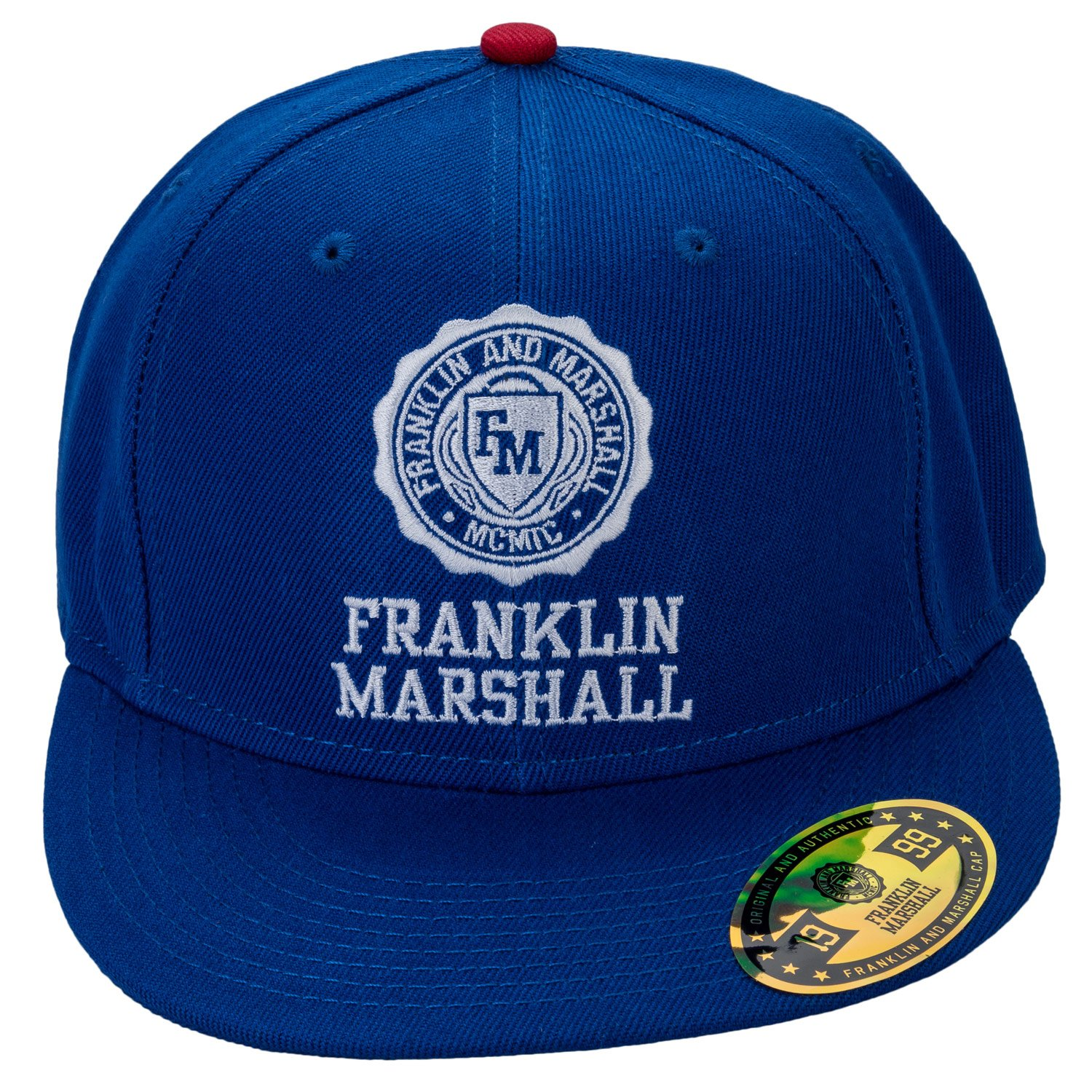 Franklin and Marshall Cap in Blue - One Size  Franklin And Marshall   Amazon.co.uk  Clothing 211039ba116