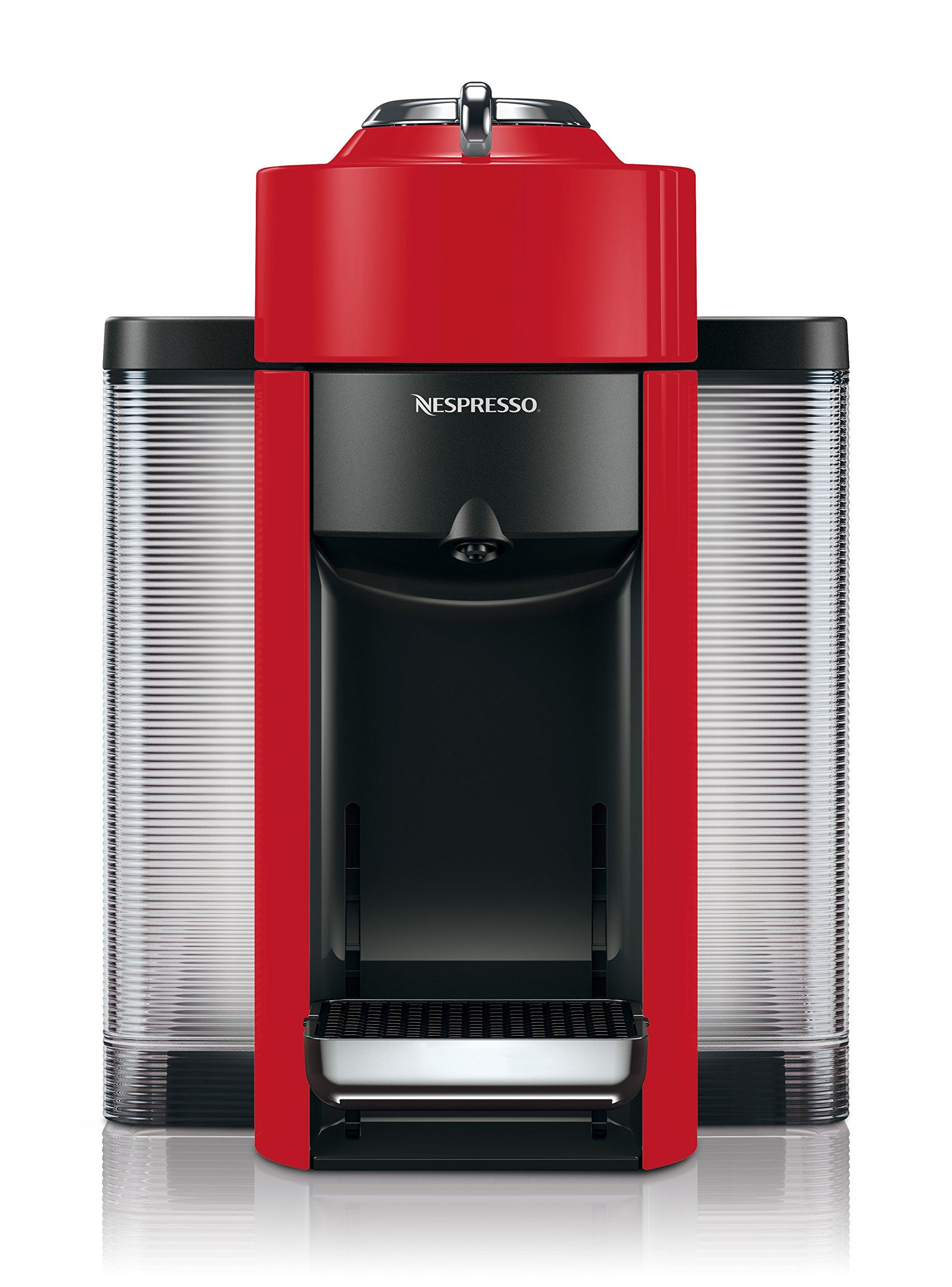 Nespresso by De'Longhi ENV135R Coffee and Espresso Machine, Red