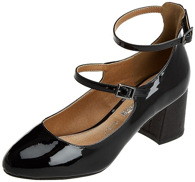 Maria Mare Donna 61899 con Cinturino alla Caviglia Nero Size 39 EU Scarpe