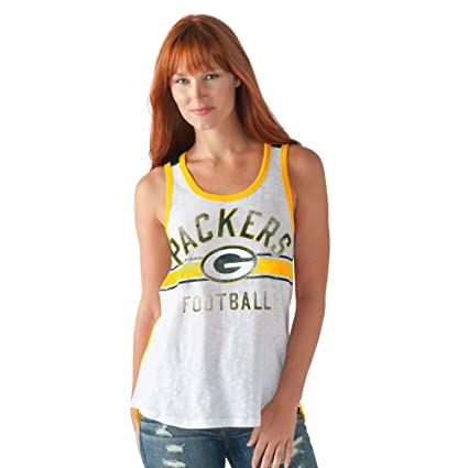 a8367519 G-III Sports Green Bay Packers Women's in The Stands Tank Top