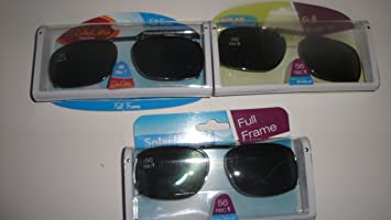 c7a1a0a91d Image Unavailable. Image not available for. Color  Solar Shield 56 Rec 1  Polarized Clip On Sunglasses