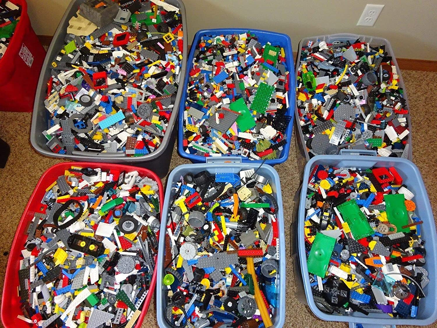 Lego LBS Parts /& Pieces HUGE BULK LOT Bricks Blocks Star Wars City Legos Pound