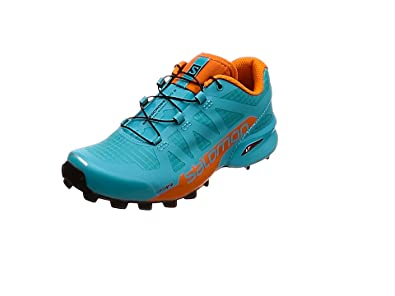 Salomon Speedcross Pro 2 Blau-Orange, Damen Trailrunning- & Laufschuh, Größe EU 43 1/3 - Farbe Bluebird-Scarlet Ibis-Black Damen Trailrunning- & Laufschuh, Bluebird - Scarlet Ibis - Black, Größe 43 1/