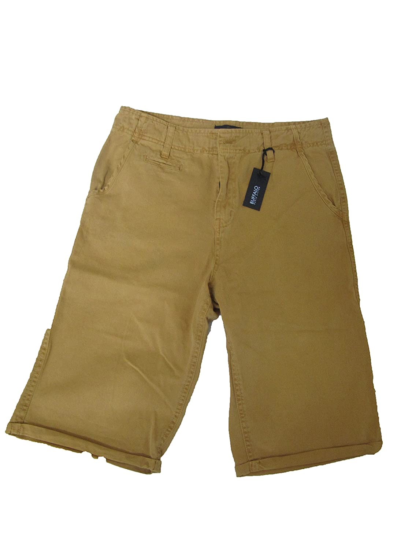 Buffalo David Bitton Roll up Shorts Boys Size 18 Almond