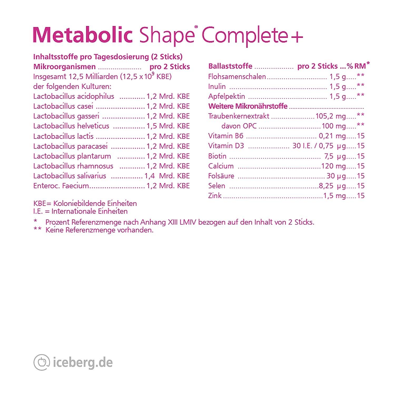 Metabolic Shape - Mejoramiento del metabolismo - perder peso - reducción de peso - dieta metabólica - cura del metabolismo - dieta - flora intestinal ...