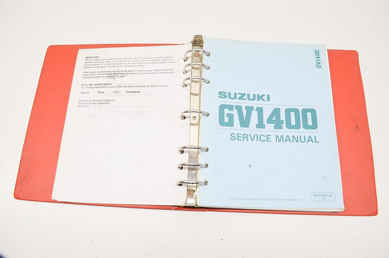 Amazon com: Suzuki 99500-39051-03E Service Manual GV1400 QTY