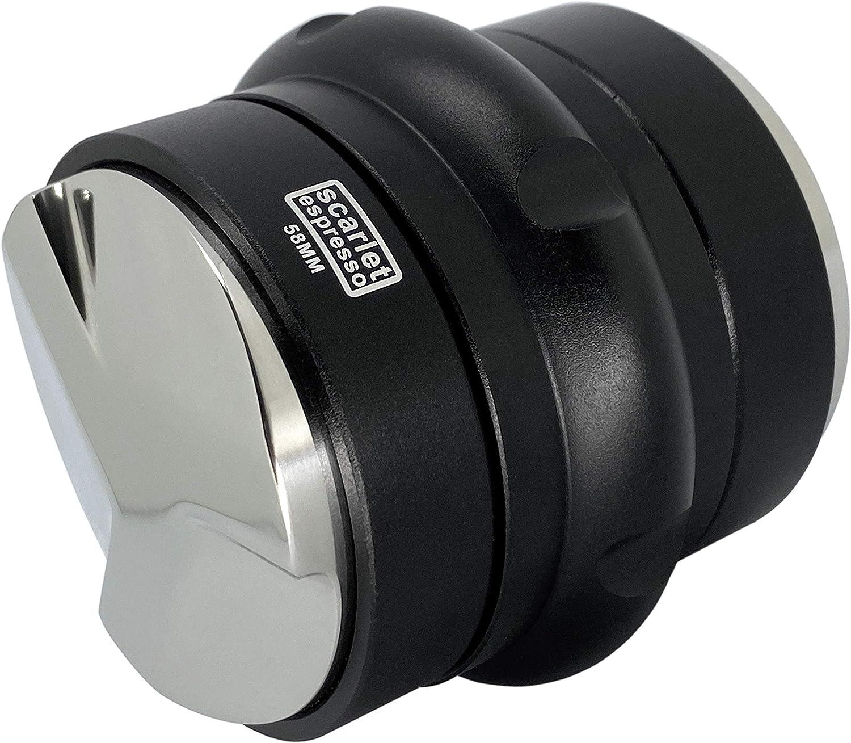 Scarlet Espresso - Herramienta de nivelación 2 en 1 para máquina portafiltros Espresso (58 mm)