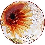 "Certified International Paris Sunflower Serving/Pasta Bowl, 13 x 3"", Multicolor"