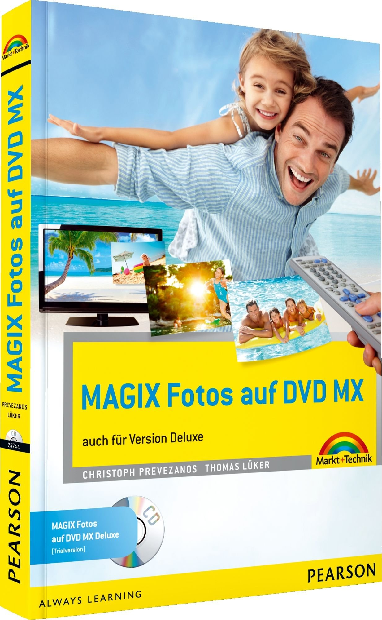 MAGIX Fotos auf DVD MX - komplett vierfarbig: auch für Version  Deluxe (Sonstige Bücher M+T)