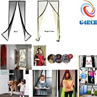 G4RCE® Mesh Door Magic Curtain Net Magnetic Snap Fly Bug Insect Mosquito Protection Net Screen 2 Colours (Beige)