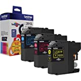 Brother Genuine Standard Yield Color Ink Cartridges, LC2013PKS, Replacement Color Ink Three Pack, Includes 1 Cartridge…