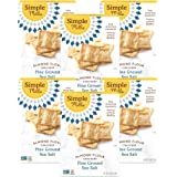 Simple Mills Almond Flour Crackers, Fine Ground Sea Salt, Gluten Free, Flax Seed, Sunflower Seeds, Corn Free, Good for…