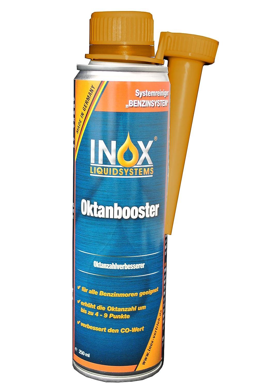 INOX Oktanbooster Additiv - Kraftstoffadditiv fü r Otto-Benzinmotoren