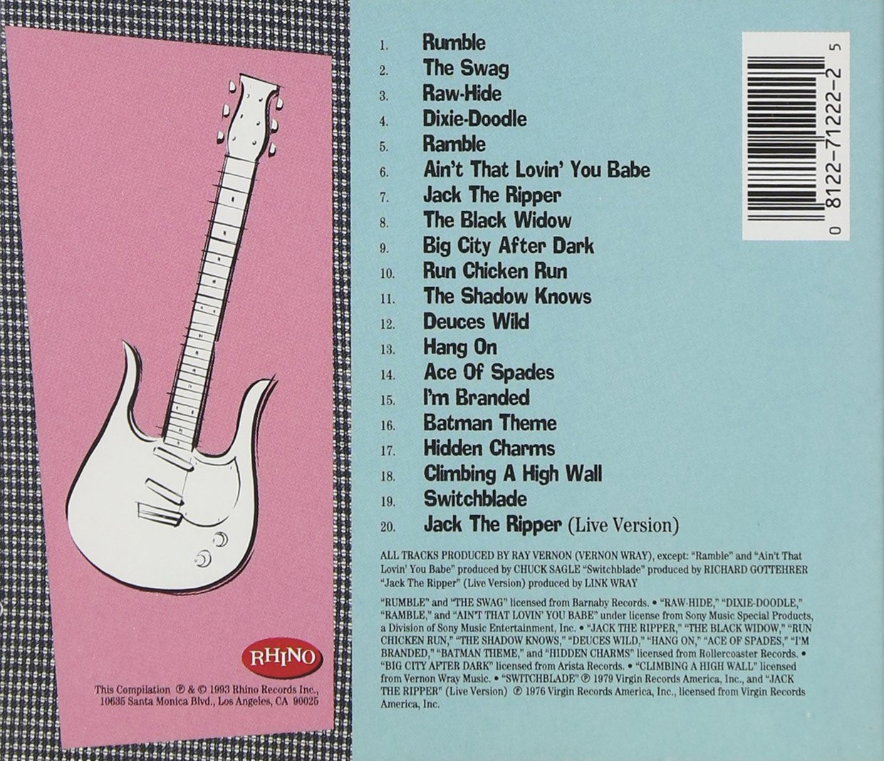 Link Wray Rumble The Best Of Link Wray Amazon Music