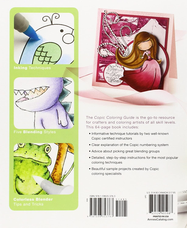 Amazon.com - Copic Markers Coloring Guide - Copic Book