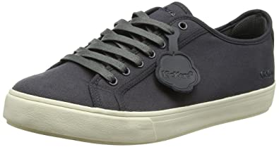 755436b84ae8 Kickers Men's Tovni Lacer Text AM Low-Top Sneakers: Amazon.co.uk ...