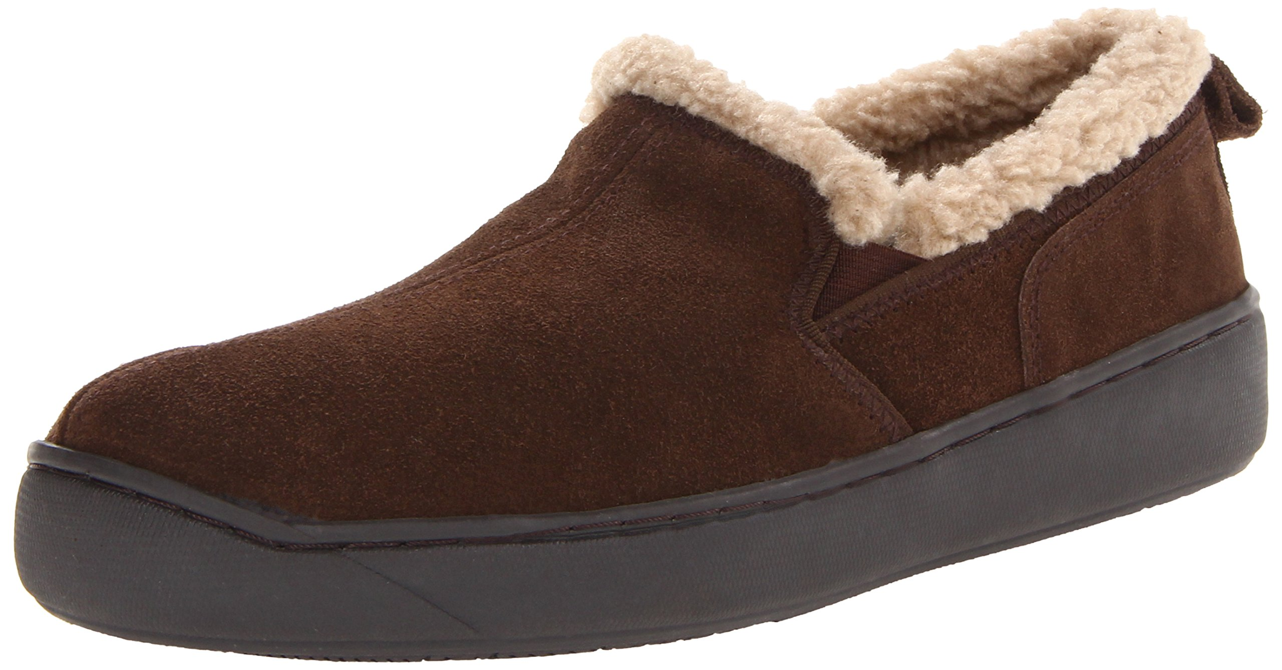 L.B. Evans Men's Hideaways Roderic Chocolate Slipper - 11 D(M) US