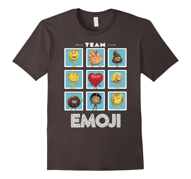 c0f88b43 The Emoji Movie Team Emoji Panels Graphic T-Shirt-RT – Rateeshirt
