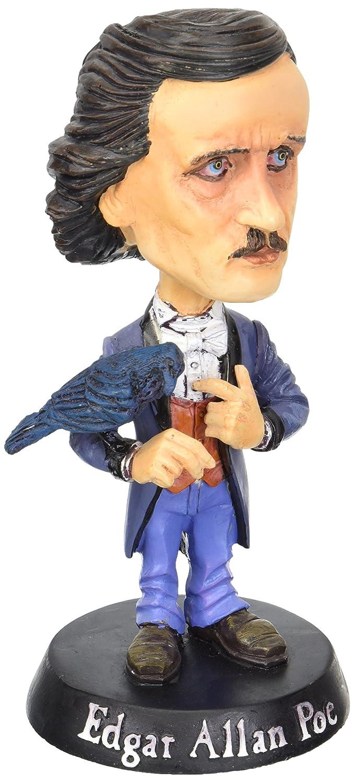 Edgar Allan Poe Bobble Head Novelty 4 x 7in