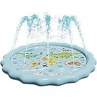 Deals on SplashEZ USA 3-in-1 Splash Pad, Sprinkler