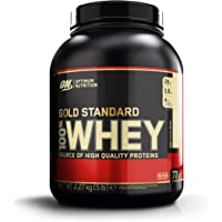 Optimum Nutrition Whey Gold Standard Protein, Vanilla Ice Cream, 2,27 kg
