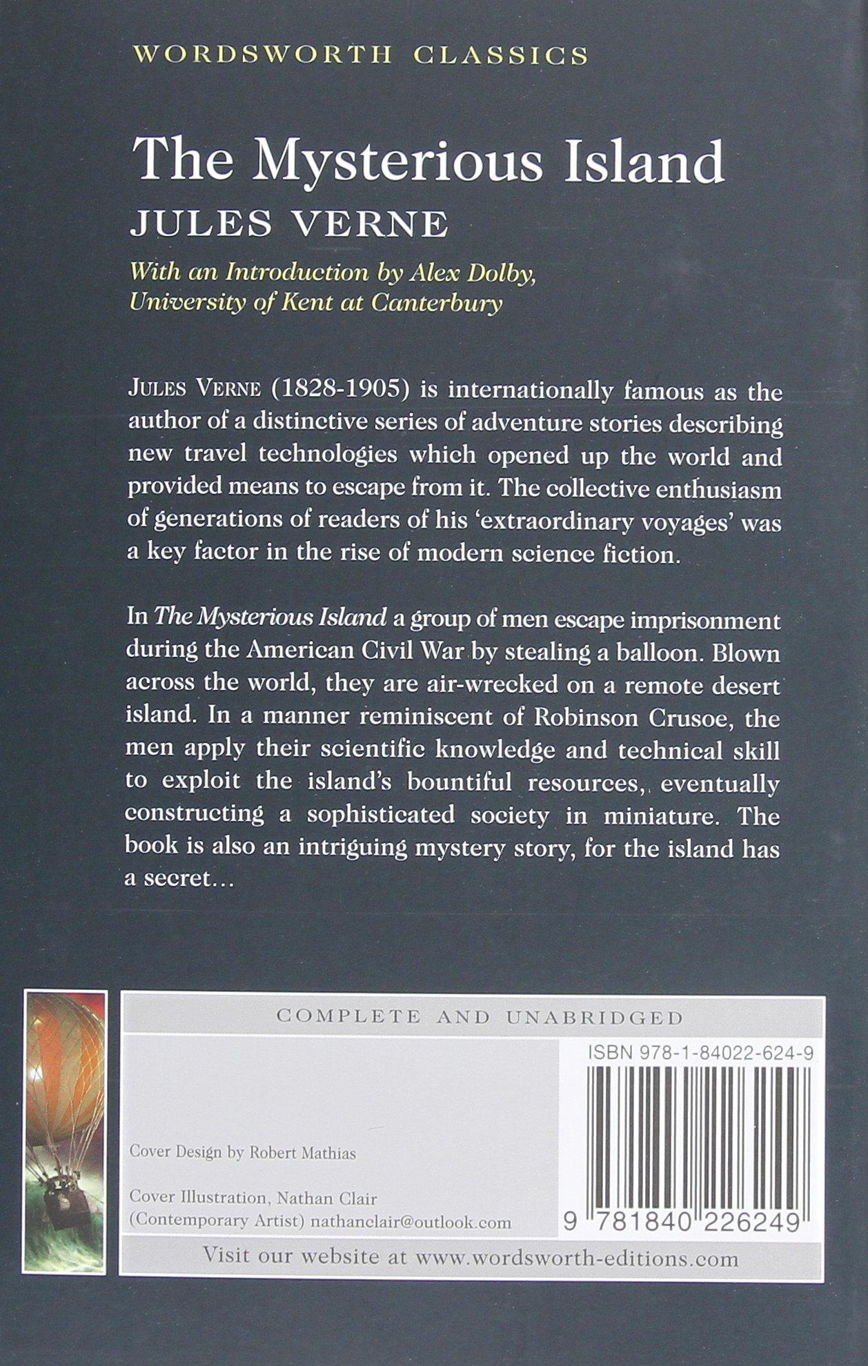 The Mysterious Island (wordsworth Classics): Jules Verne: 9781840226249:  Amazon: Books