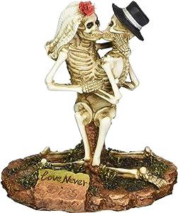 Love Never Dies Collectible Skeleton Sculpture