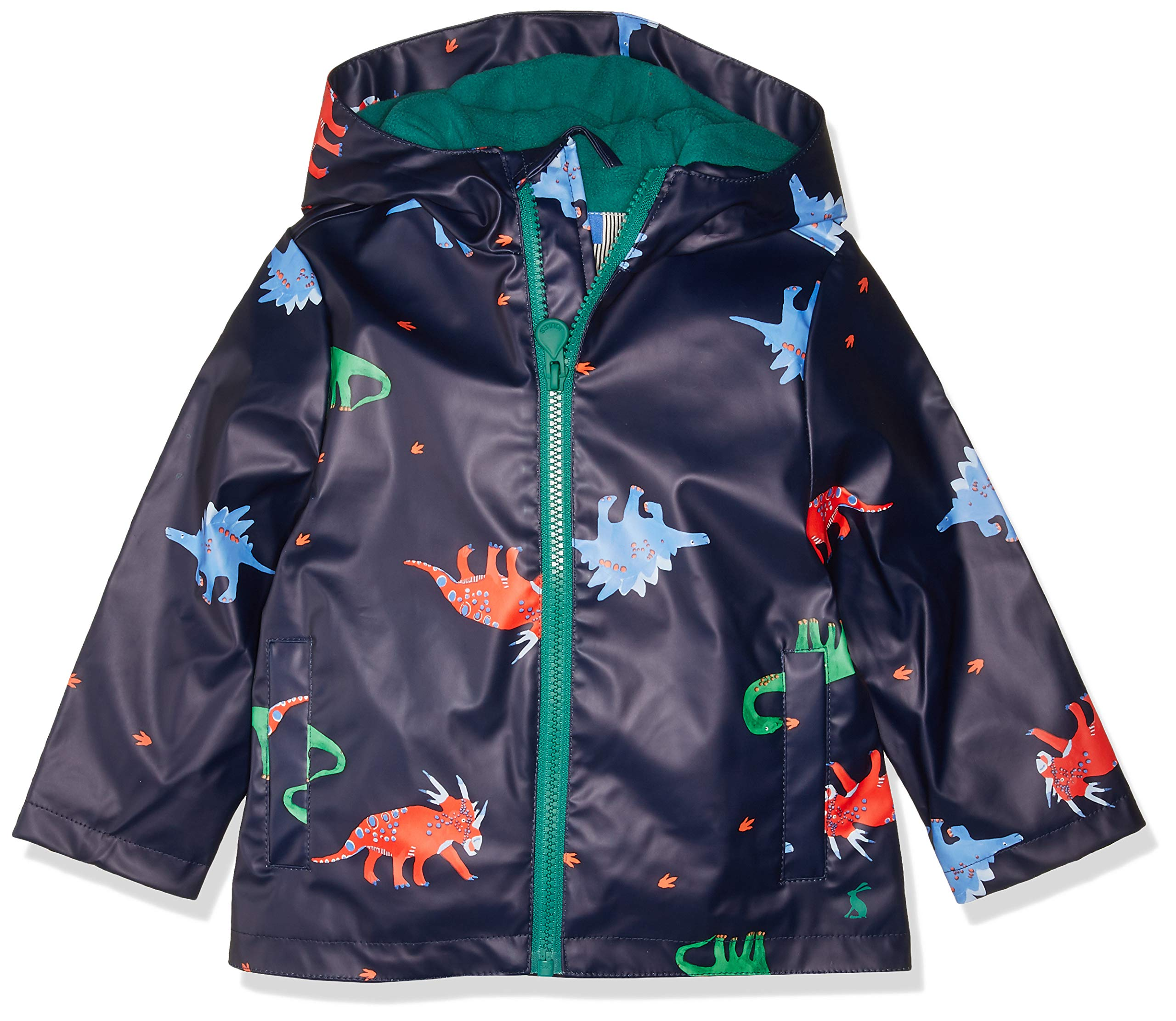 Joules Outerwear Boys' Little Skipper, Navydinos, 4 by Joules Outerwear