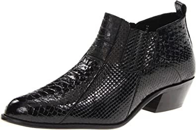 Stacy Adams Mens Black Boots Sunset